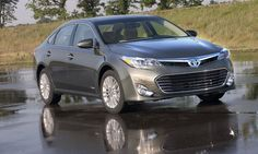 he V6 in the 2013 Avalon is a carryover from 2012 Photo by Toyota.    Read more: http://www.autoweek.com/article/20120626/green/120629861#ixzz21UEuzr6c