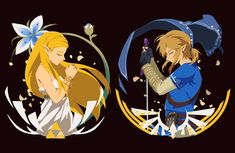 Legend of Zelda Breath of the Wild art > Princess Zelda and Link The Legend Of Zelda, Legend Of Zelda Memes, Legend Of Zelda Breath, Cry Anime, Anime Art, Zelda Drawing, Princesa Zelda, Zelda Tattoo, Elfa