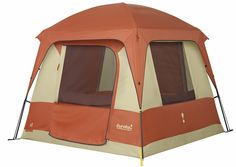 Eureka! Copper Canyon 4 Four-Person Camping Tent - 8' x 8' @elitedeals