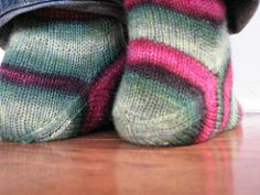 Ravelry: AfterThought Heel Socks pattern by Laura Linneman