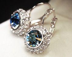"18k Gold Plated Swarovski Crystal ""Kate Middleton"" Stud Earrings | Jane"