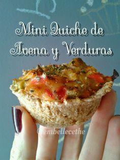Embellecethe: Mini Quiche Vegana ~ Rápida y Fácil