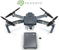 Hard disks for drones - Seagate and DJI