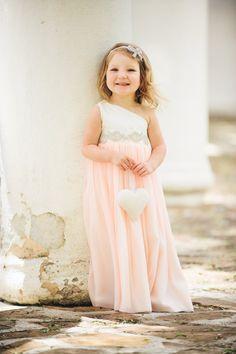 Blush, Peach, Coral, Mint, Seafoam, Grey, Black, Ivory Flower Girl Dress / Special occasion dress / Rhinestone Sash / CHOOSE your color