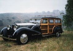 1933 ROLLS-ROYCE PHANTOM II WOODY ESTATE WAGON...Brought to you by #House of #Insurance in #EugeneOregon