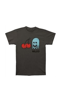 96d980b72 Amazon.com: Wilco Men's Cherry Ghost Slim Fit T-shirt Grey: Music Fan T  Shirts: Clothing