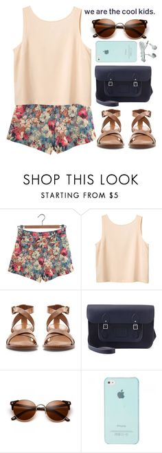 """""""Pumped up Kicks"""" by evangeline-lily ❤ liked on Polyvore featuring Retrò, Monki, Zara and The Cambridge Satchel Company"""