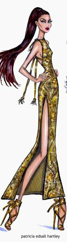 Red Carpet Glam 'Gold Rush'  by Hayden Williams