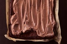 The Hummingbird Bakery frosted brownie This Hummingbird Bakery recipe is a great alternative to the traditional brownie. It's more cake-like, contains nuts and is topped with chocolatey cream-cheese frosting