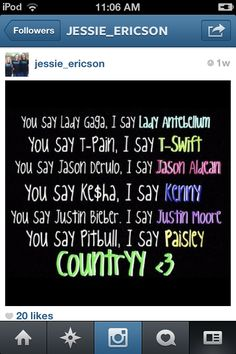 I love country!!!!