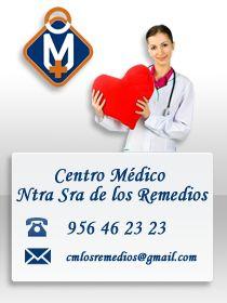 CENTRO MÉDICO NTRA SRA DE LOS REMEDIOS --->   Su Centro Médico de confianza en la provincia de Cádiz, disponemos de instalaciones con las últimas tecnologías, especialistas médicos, servicio de ambulancias. Disponemos de más de 20 especialidades médicas...  http://elcomerciodetubarrio.com/page/http-www-centromedicolosremedios-com-blog-
