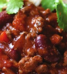 Tonight we fancy comfort food, so we're trying this Chilli Con Carne recipe from The Hairy Bikers