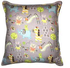 Elefante Safari almohada Linda franela suave almohada niño