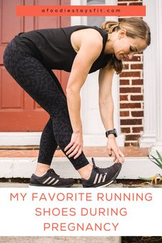 Want to keep running while pregnant? Not only will you need some of the best pregnancy workout clothes, you'll also want to incorporate some good running shoes that'll keep you comfortable while running pregnant. So as your belly continues to grow, it might be time to consider a new pair of running shoes so you can adjust comfortably to the changes in your body. Head to the blog to read now. | #pregnant #runners #runningshoes #pregnancystyle #maternity Running Socks, Best Running Shoes, Running Jacket, Running Workouts, Running Tips, Marathon Tips, Half Marathon Training, Best Pregnancy Workouts, Weight Training For Runners