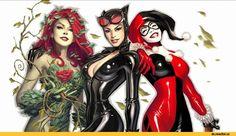 Gotham City Sirens, sirens Gotemskie, Poison Ivy, Poison Ivy, Pamela Isley, DC Comics, DC Universe, the universe DiSi, fandom, Harley Quinn,…