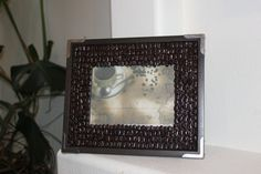 Coffee Bean Picture Frame on Etsy, $30.00