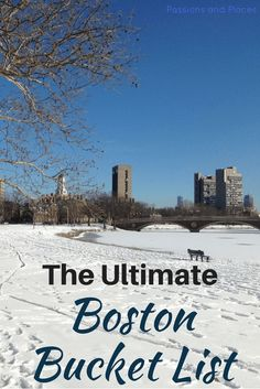 Boston, Massachusetts, is a popular travel destination in New England, and there are plenty of things to do in the city. After living there for four years, we created this bucket list to give you a local perspective for your next trip. Click to read about the city's museums, markets, theatre, sports, breweries, outdoors activities, and more.