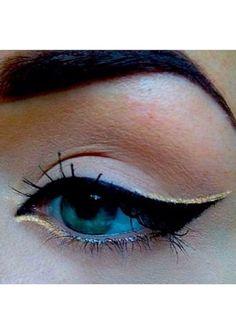 eyeko rose gold eyeliner.