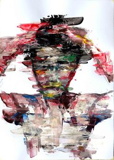 KwangHo Shin - love his work. Check out more: http://www.visualnews.com/2013/04/10/abstract-paintings-by-kwangho-shin/#more-81791