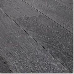 Order Vanier Engineered Hardwood - Extra Wide Plank Oak Collection Charleston Gray / Oak / Handscraped / 7 delivered right to your door. Grey Hardwood Floors, Engineered Hardwood Flooring, Wooden Flooring, Kitchen Flooring, Grey Oak, Gray, White Oak, Doors And Floors, Condo Design