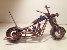 American Metal Art motorcycle.