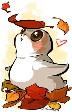I'm not a big fan of porgs but this one makes me smile