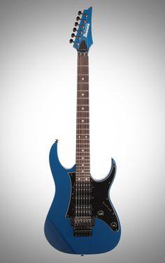 Ibanez RG655 Prestige Electric Guitar: With DiMarzio Air Norton/True Velvet/Tone Zone pickups and a rock-solid 5-piece maple/walnut Super Wizard neck, the RG655 Prestige is one impressive Ibanez.