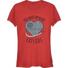 4e4e941ce Star Wars Death Star Valentine's Day T-Shirt Nerd Chic, Star Wars Love,