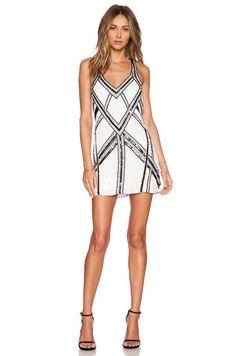 Parker Benny Sequin Dress en Blanco | REVOLVE