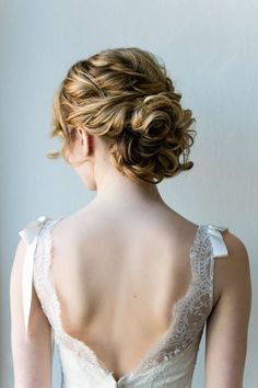 curly #bridalupdo