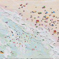 Check out 'The Beach Heatwave – Plein Air' by Sally West at KAB Gallery Sally West, West Art, Australian Art, Beach Art, Painting Inspiration, Waves, Fine Art, Gallery, Artwork