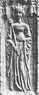 "Maria de Luna (1358 – Villarreal, 20 December 1406), was a queen consort of Aragon, as the spouse of King Martin I of Aragon. She was known as ""La Grande"", and is regarded as one of the most notable queens in Aragon. She was regent 1396-97. Maria was politically active and exerted influence upon society and policy, and was considered to exceed Martin as a ruler. She supported the poor financially, handled taxes, welcomed Jewish and Muslim refugees, aspired to stop the wars between noble…"