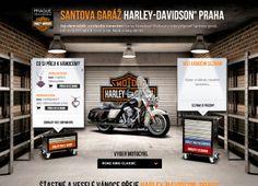 Santova garáž společnosti HARLEY DAVIDSON