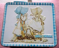 Vintage 1979 Metal Holly Hobbie Lunch Box.  I had this lunch box!