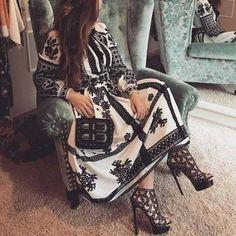 Designer Wear, Designer Dresses, Folk Fashion, Womens Fashion, Ethno Style, Ukrainian Dress, Casual Outfits, Cute Outfits, Mode Boho