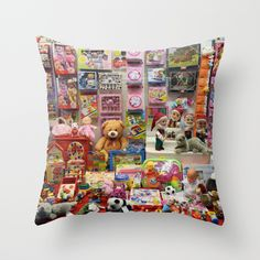 Inner child Throw Pillow by mioeyfjord Inner Child, Throw Pillows, Store, Children, Young Children, Cushions, Tent, Shop Local, Decorative Pillows
