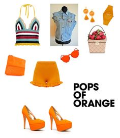 Designer Clothes, Shoes & Bags for Women Valentino, Kate Spade, Forever 21, Bright, Shoe Bag, Polyvore, Red, Stuff To Buy, Accessories