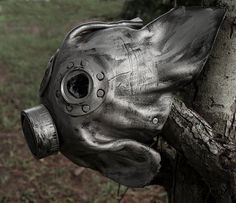 Handmade Leather Art  Plague Doctor Steampunk by MonkeyDungeon, $149.99