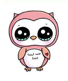 Kawaii Girl Drawings, Cute Food Drawings, Cute Animal Drawings Kawaii, Cute Little Drawings, Cute Cartoon Drawings, Disney Drawings, Cute Cartoon Images, 365 Kawaii, Kawaii Art