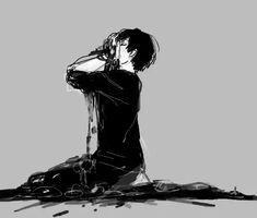 Bloody anime boy Gore