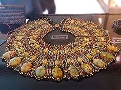 Colar de Besouros, Exposição Segredos do Egito. #exposicao #culturaegipcia #arteegipcia