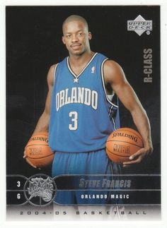Steve Francis # 61 - 2004-05 Upper Deck R-Class Basketball