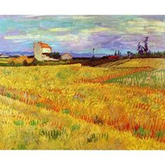 Wheat Field with Sheaves II Reproductions Painting