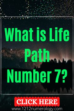 Life Path number 7 is a cerebral, intellectual number, with a mysterious air about them, and a tendency towards philosophy that can be either incredibly inspiring or deeply cynical. Life Path Number 7, Number Patterns, Numerology, Mysterious, Paths, Philosophy, Numbers, Learning, Studying
