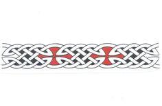 Celtic Warrior Band Tattoo Designs tattoos on pinterest tribal dragon ...