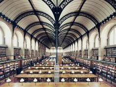 """French photographer Franck Bohbot travels the world in search of some of the most beautiful book havens out there and so far has visited Paris and Rome.  He plans to travel to Europe and South America, North America and Asia next. His on-going project, House of Books, is just beginning, but he aims to """"offer a new approach in terms of atmosphere, colours and composition""""."""