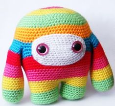 rainbow monster-DIY THIS