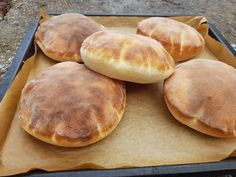 Pita chlieb (fotorecept) - obrázok 8 - My site Easy Cooking, Cooking Recipes, Good Food, Yummy Food, Salty Foods, Bread And Pastries, Bread Baking, Bread Recipes, Sweet Recipes