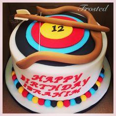 Archery cake