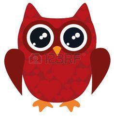 cartoon bird: vector illustration of owl for valentine day